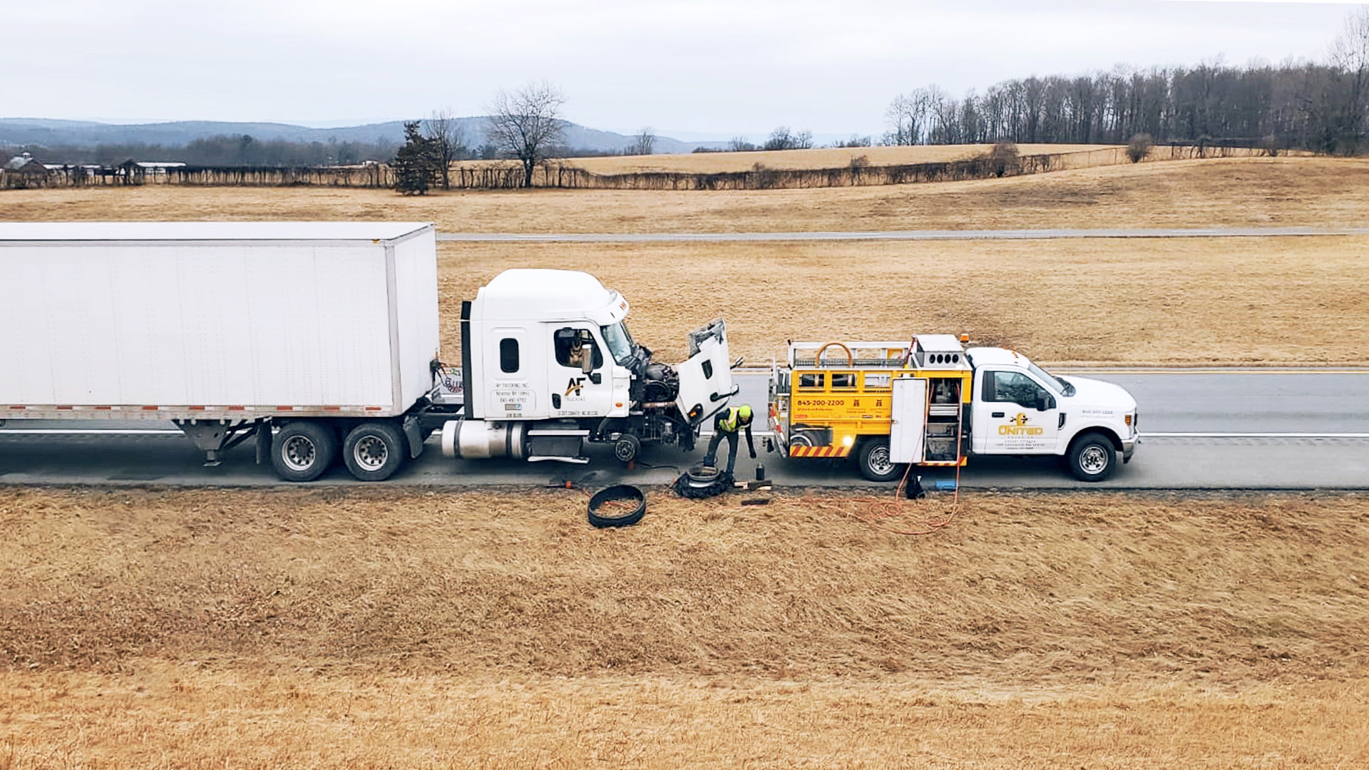 Benefits Of Emergency Roadside Truck Repair